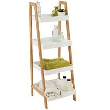 bamboo white bathroom furniture range
