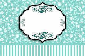 Fiesta Tiffany Invitaciones Para Imprimir Gratis Ideas Y