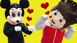 Mickey Mouse & Minnie Mouse Pokemon Pikachu Song Funny Story ...