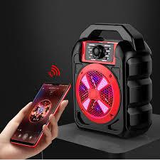 Loa Bluetooth Cao Cấp Kèm Mic Hát Karaoke + Tặng Cable Âm Thanh Chuẩn 3.5mm  Trị Giá 50.000 vnđ