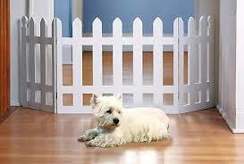 Wood Picket Fence Design Adjustable Folding Wooden Indoor Safety Pet Gate Ebay