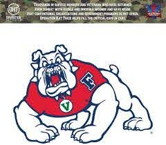 Amazon Com Victory Tailgate Fresno State Bulldogs Operation Hat Trick Oht Die Cut Vinyl Decal Sports Outdoors