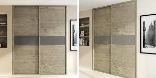 wood grain melamine sliding wardrobe