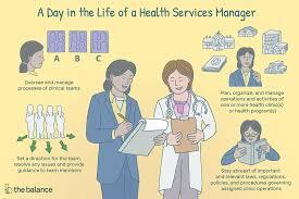health services manager job description