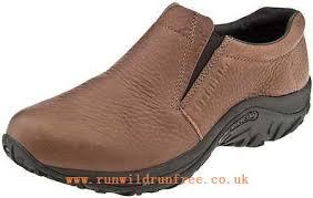 merrell men s brown leather jungle moc