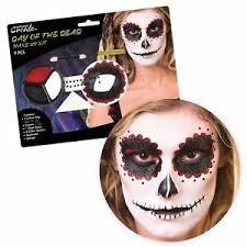makeup eyes kit mexican dia los muertos