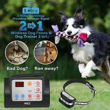 Review Wiez Outdoor 2 In 1 Wireless Dog Fence