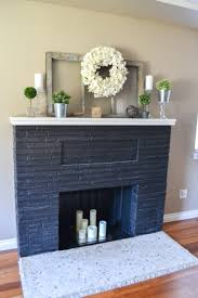 fireplace makeover with built in window