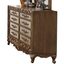 acme orianne 8 drawer mirrored dresser