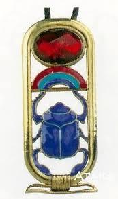 ancient egyptian scarab cartouche