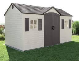 plastic shed assembly service uk