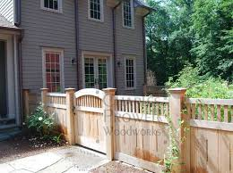 Wooden Fence Design 1 By Prowell Woodworks Fence Design Wooden Fence Panels Backyard