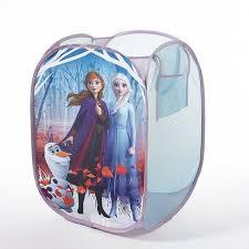Disney Frozen 2 Kids Anna And Elsa Whole Room Solution Toy Storage Set 1 Trunk 1 Hamper 2 Pack Storage Cubes