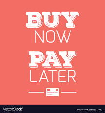 buy now pay later credit cards quotes royalty vector