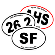 Affordable Quality Custom Oval Stickers Car Decals