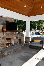 planning an outdoor fireplace