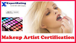 makeup artist certification you
