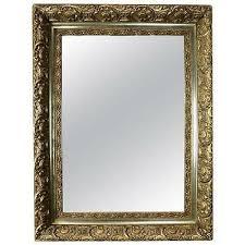 finish gold giltwood framed wall mirror