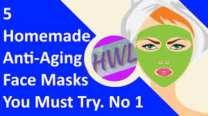 5 homemade anti aging face masks you