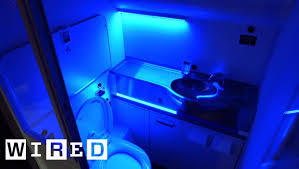bathroom would nuke germs with uv rays