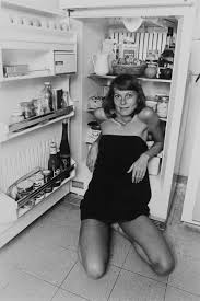 Twinka Thiebaud - 1976 Ulvis Alberts - The Book. Camera as Passport    Fashion, Little black dress, Model