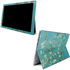 Amazon Com Mightyskins Skin For Microsoft Surface Pro 7 Almond Blossom Protective Durable And Unique Vinyl Decal Wrap Cover Easy To Apply Remove And Change Styles Made In The Usa