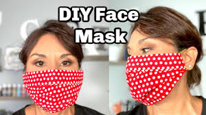 HOW TO DIY FACE MASK / NO SEW EASY TO ...