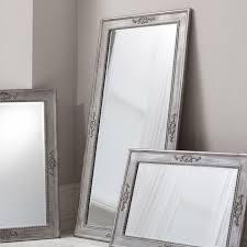 wall mirror ellesmere tall large grey