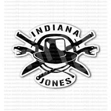 From 4 50 Buy Indiana Jones Indy Film Movie Sticker At Print Plus In Stickers Movie Music At Print Plus