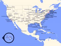 southwest airlines route map