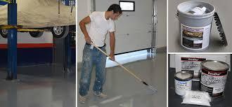 mercial garage floor coating