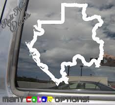 Gabon Country Outline Africa Car Truck Bumper Window Vinyl Decal Sticker 07170 Home Garden Decor Decals Stickers Vinyl Art Ayianapatriathlon Com