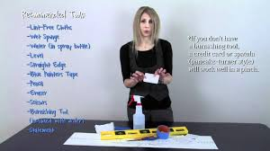 How To Apply Vinyl Wall Quotes Video 1 Before You Begin Preparing Your Surface Youtube
