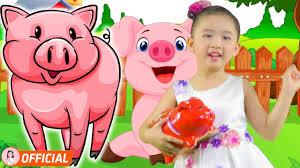 Nhạc Thiếu Nhi Vui Nhộn Hay Nhất - Con Heo Đất - Bé Candy Ngọc Hà - YouTube