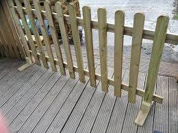 Portable Freestanding Smooth Treated 6ft Picket Fence Panel 2ft 3ft Or 4ft High Ebay Picket Fence Panels Fence Panels Wood Picket Fence