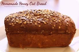 homemade honey oat bread recipe to