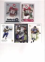 Adrian Peterson Rookie Card Lot Fleer Ultra Lucky 13 Rookie,AP Lot w/ 2  Rookies #MinnesotaVikingsSaints | Football cards, Cards, Baseball cards