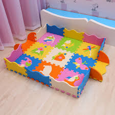 25pcs Pack Cartoon Eva Foam Floor Mat Baby Puzzle Mat With Fence Baby Play Mat 9pcs Eva Foam Mat 12pcs Fence 4pcs Conner Px60 Play Mats Aliexpress