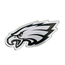 Philadelphia Eagles Color Emblem 3 Car Team Decal