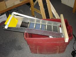 building a recirculating sluice box for