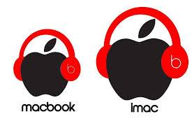 Beats Headphones Vinyl Decal Sticker 13 15 Apple Laptop Macbook Pro Imac Apple Laptop Macbook Imac Apple Laptop