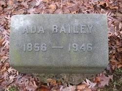 Ada Bailey (1856-1946) - Find A Grave Memorial