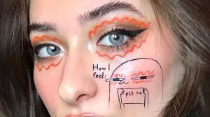 makeup artist cataline hotin creates