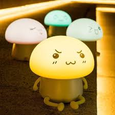 Shop Cute Atmosphere Silicone Soft Control Led Touch Lamp Kids Night Light Overstock 17305799