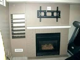tv above fireplace issacdurrett co