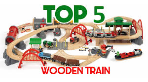 top 5 wooden train track for
