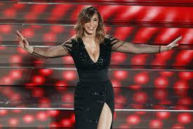 Sabrina Salerno all'Ariston