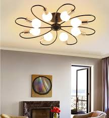 2020 led ceiling light fixture semi