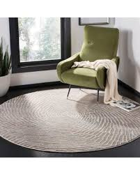 """Find the Best Savings on Williston Forge Wendi Abstract Taupe Area Rug  WLFR4615 Rug Size: Round 6'7"""""""