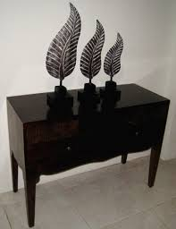 2 drawer console table from teakwood